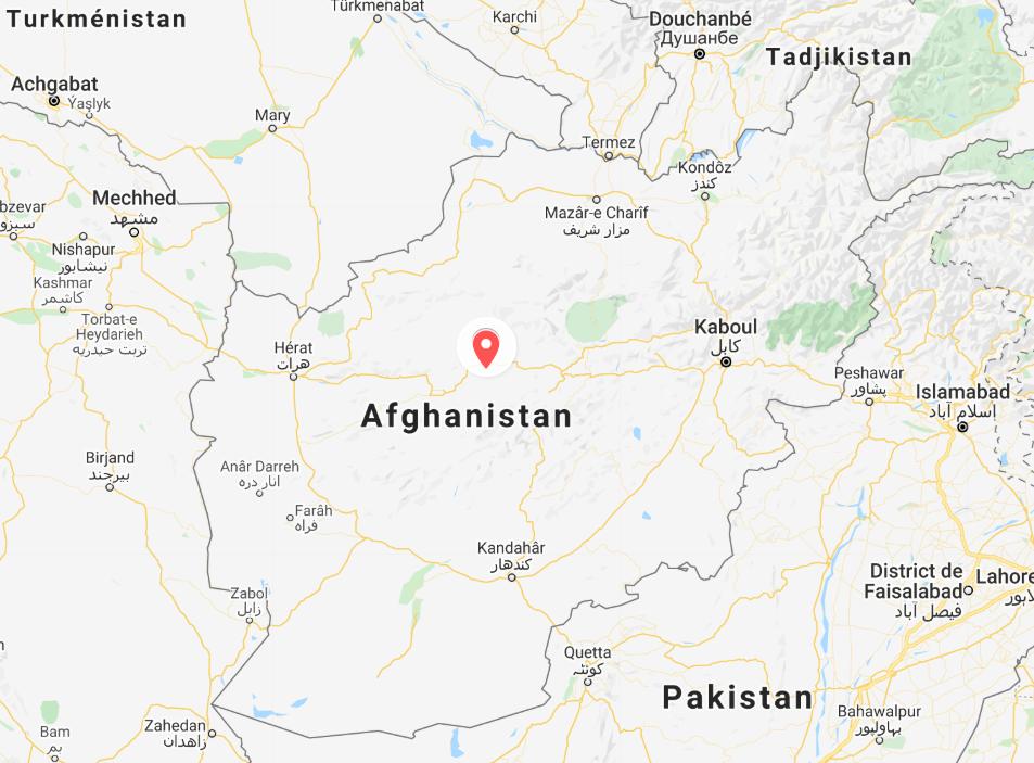 carte afghanistan sara daniel