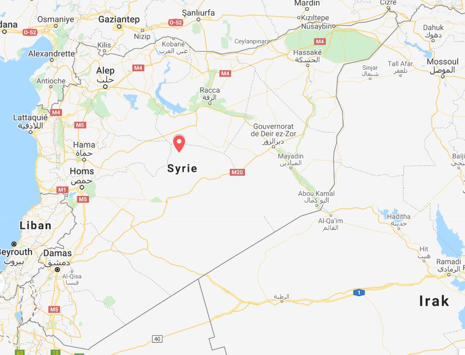 carte syrie sara daniel